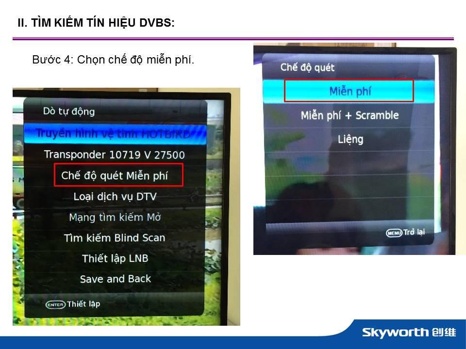 tivi led 42inch skyworth cho chất lượng hình ảnh trung thực