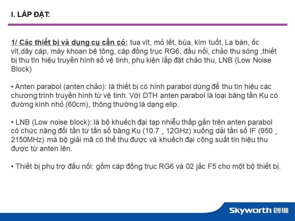 tivi led skyworth DVB T2