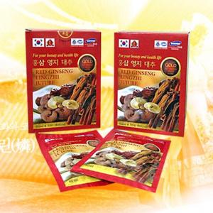 tui nuoc hong sam linh chi - Red Ginseng Lingzhi Jujube Gold