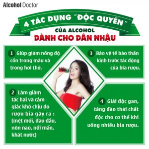 công dụng tác dung alcohol -mẹo vặt giải rượu