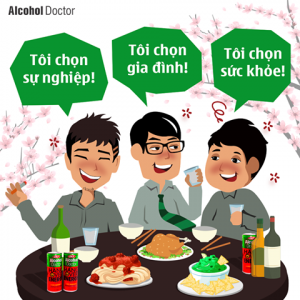 nước giải rượu alcohol doctor hangover energy