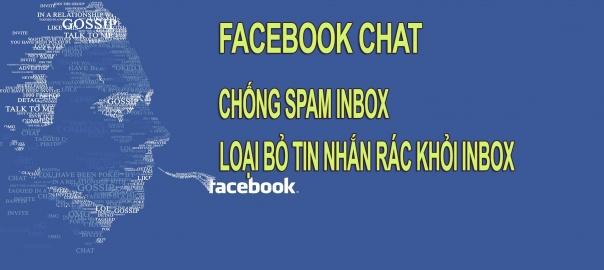 cách chan tin nhắn rác spam trên facebook