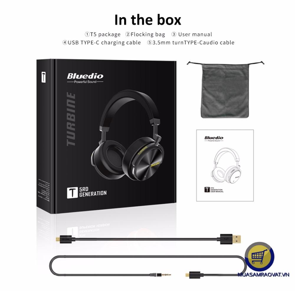 phụ kiện tai nghe headphone bluedio t5 th