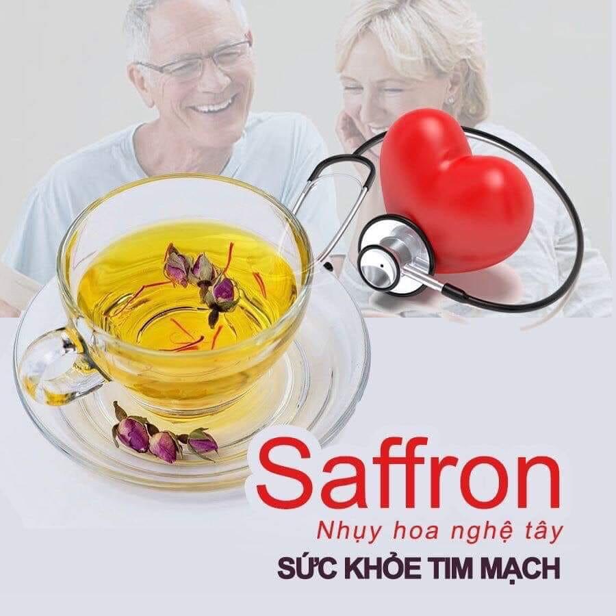 saffron tot cho tim mạch